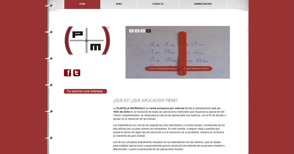 web_plantilla_matricial
